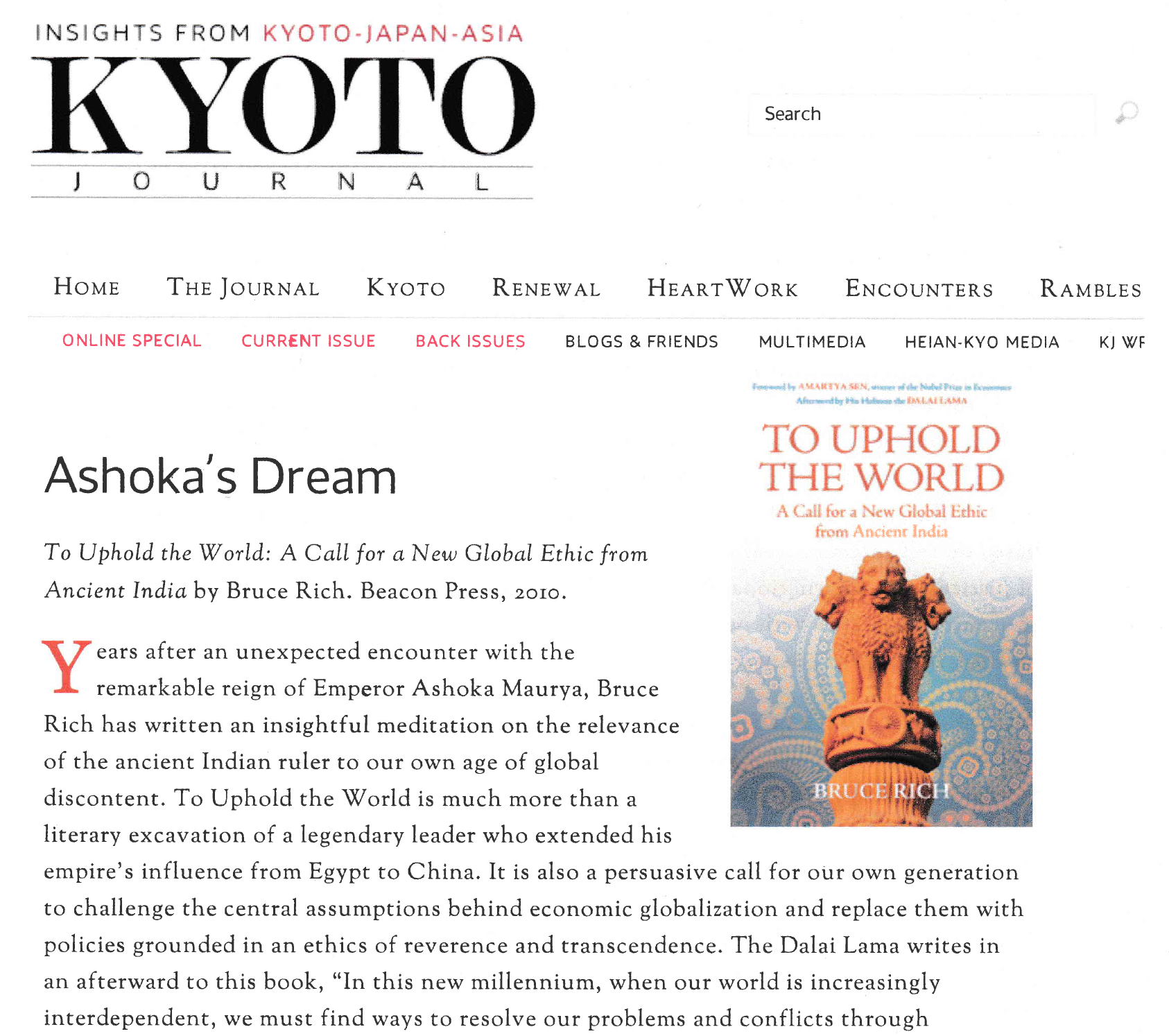 Ashoka's Dream